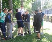 29 мая в Старом Крюково прошли спортивно-игровые соревнования «Весёлые старты»